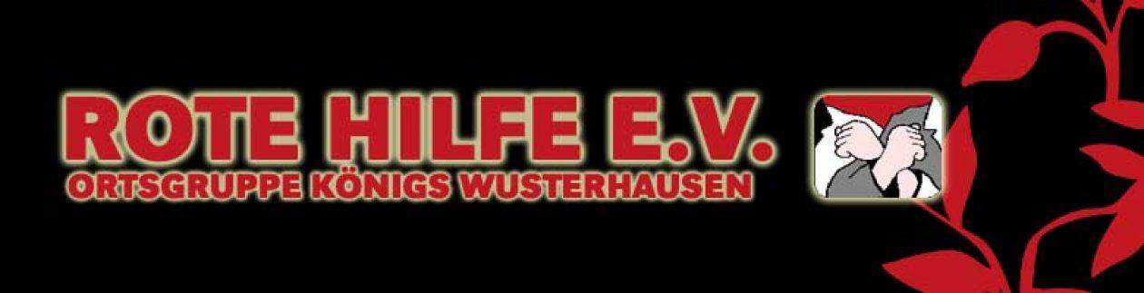Rote Hilfe e.V. Ortsgruppe Königs Wusterhausen